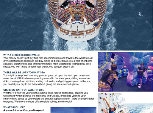 Your next vacation should be a cruise. This is why