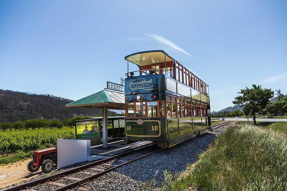 Wine Tram, South Africa