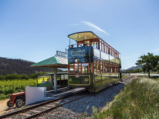 Wine Tram, Franschhoek Valley, South Africa