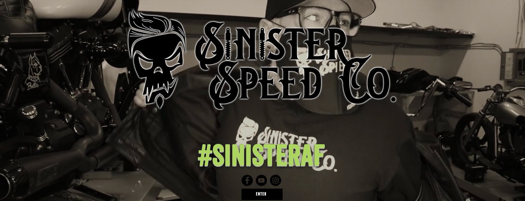 Sinister Speed Co. Website