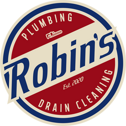 Robins Plumbing Logo Full Colour Transpa