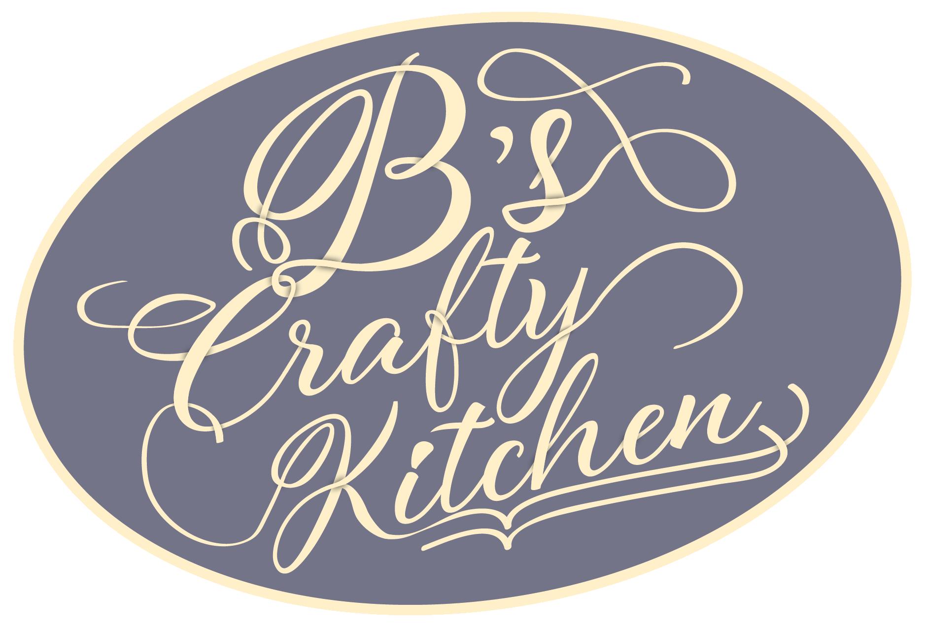 Bs Crafty Kitchen Logo Design-01