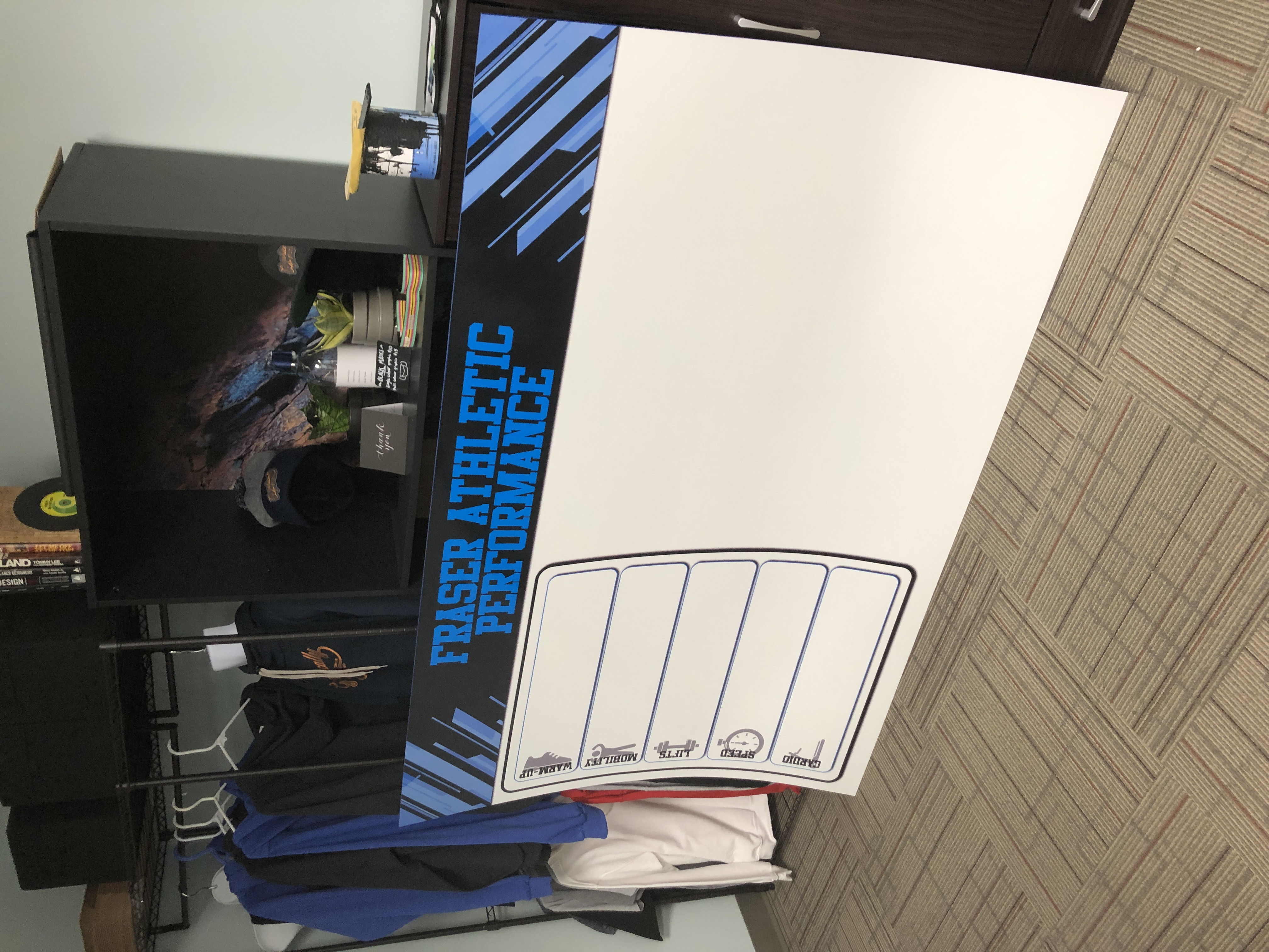 Dry Erase Fitness sign