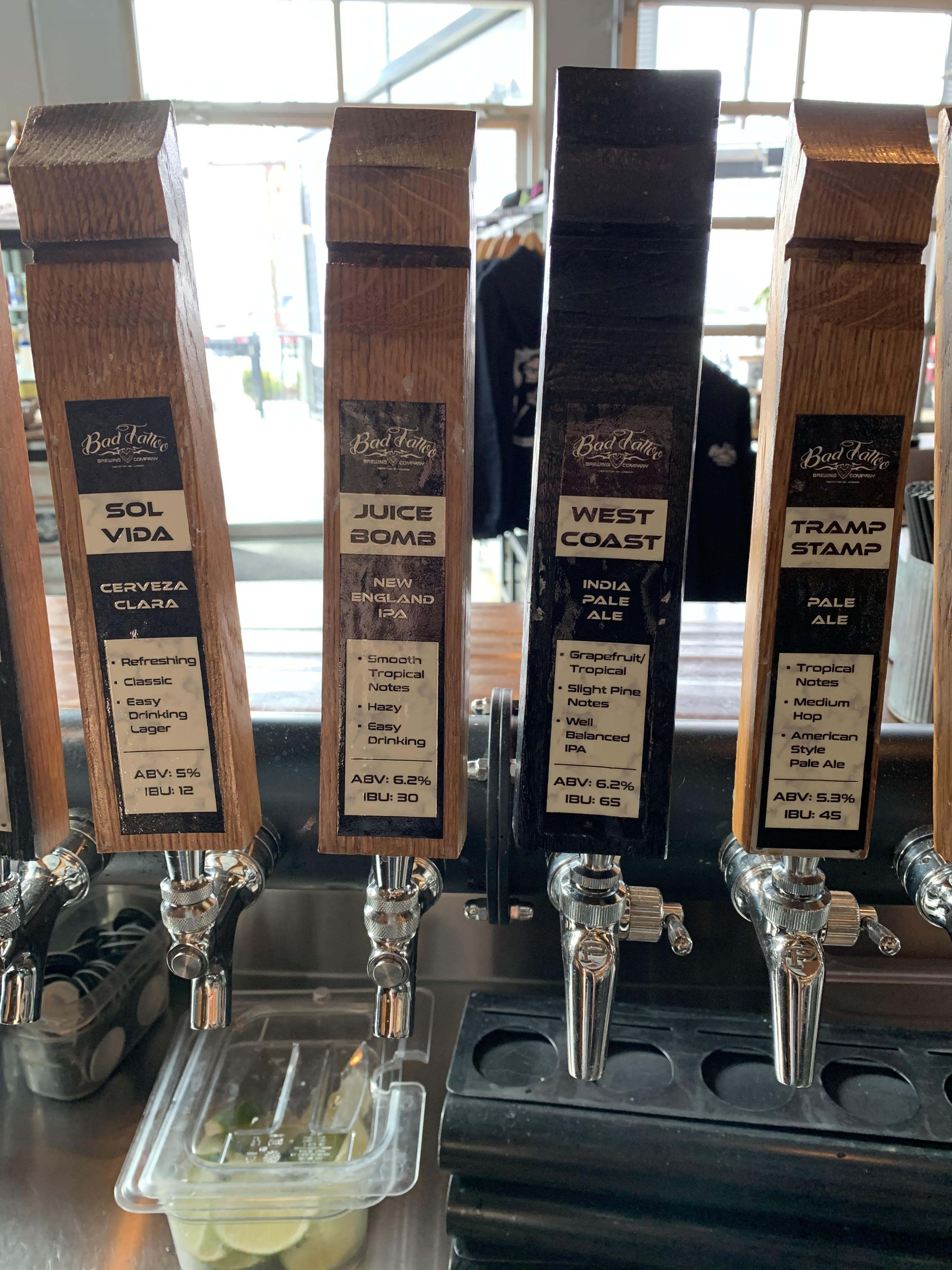 tap handles 2