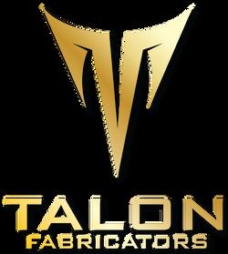 Talon Logos Gold Vertical TRANSPARENT wi