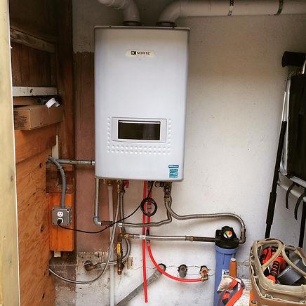 santa barbara tankless water heater installation ken palmer plumbing