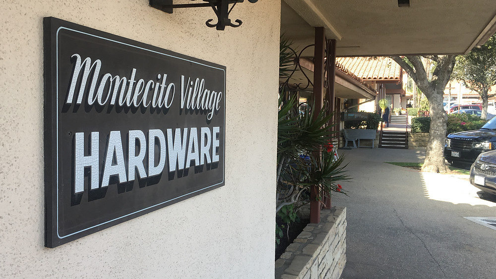 Montecito Village Hardware (source: KEYT)