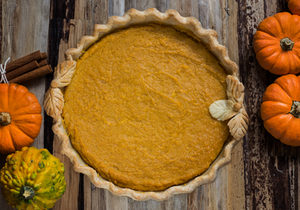 Sweet and savory gluten-free butternut squash pie filling