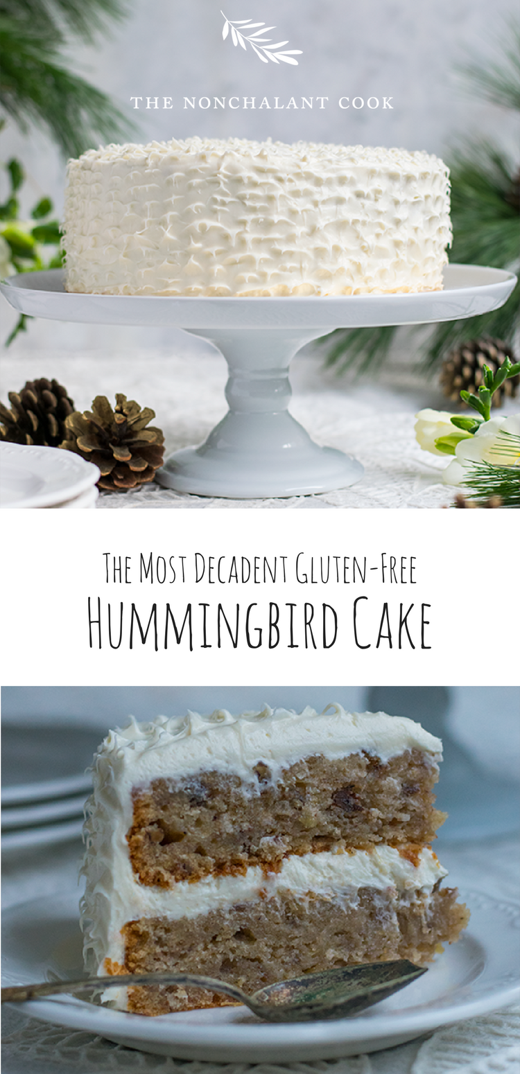 The hummingbird cake gluten free