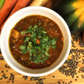 Vegetables & Lentil Soup