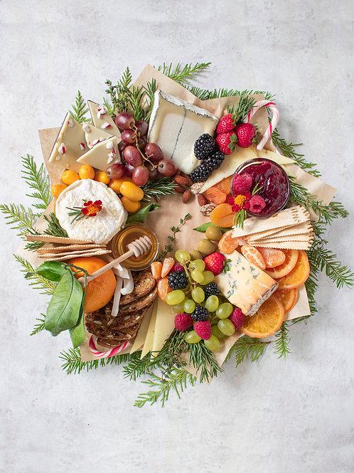 Christmas Wreath Cheeseboard