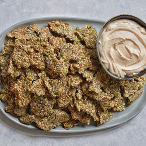 Oats and Seeds Crackers