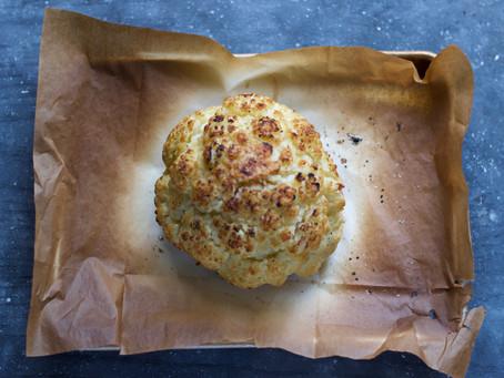 Whole Roasted Cauliflower Head
