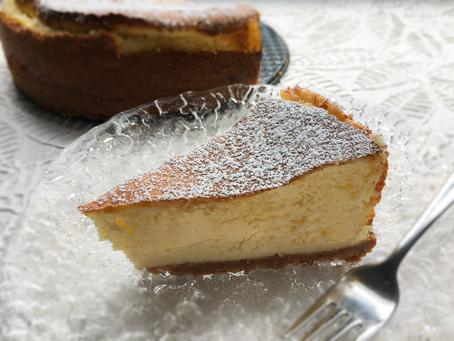 Gluten-Free Baked Cheesecake
