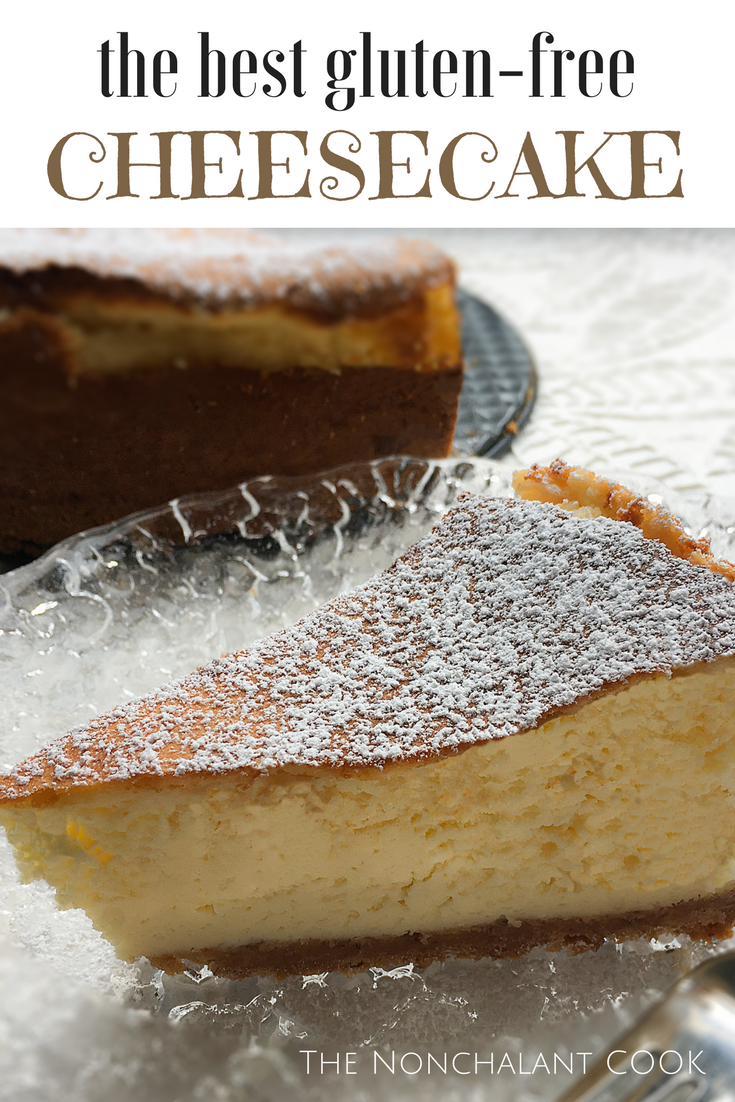 the best gluten-free cheesecake