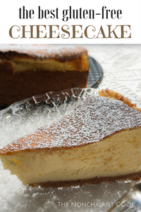 the best gluten-free cheesecake