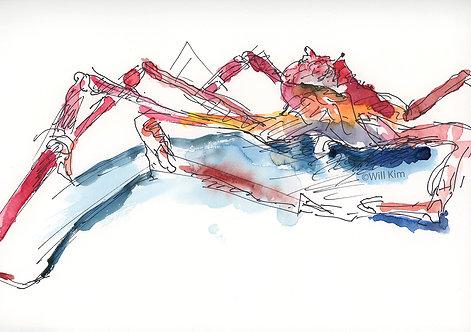 Digital Copy for Printing - Crab