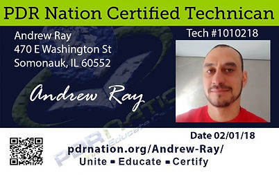 PDR Nation Certified Technican