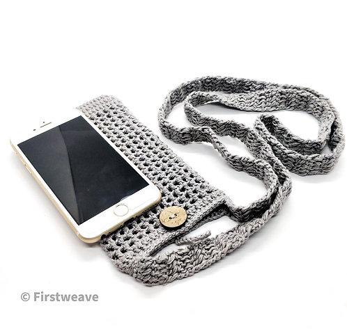 Multipurpose Mobile Sling Bag Grey