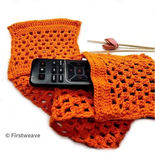 Remote Organizer Orange