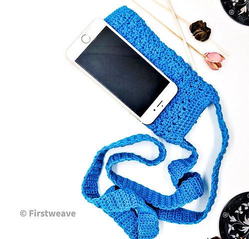 Multipurpose Mobile Sling Bag Blue
