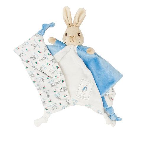 My First Peter Rabbit Soft Plush Baby Comfort Blanket Comforter Toy