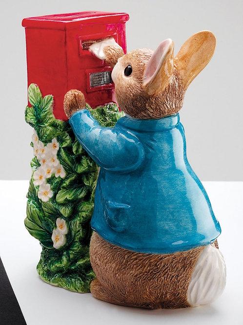 Beatrix Potter Peter Rabbit Posting A Letter Money Box Border Fine Arts