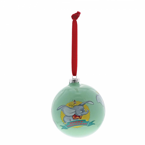 Enchanting Disney Dumbo Baby's First Christmas Bauble