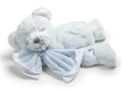 Baby's First Teddy Musical Bear Soft Toy Suki Gifts Boys Blue