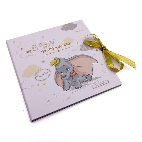 Disney Magical Beginnings Dumbo My First Year Baby Memory Record Book