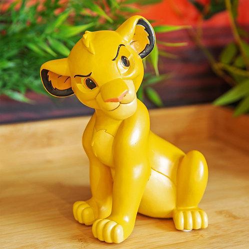 Disney Lion King 3D Hand Painted Money Box Bank Simba