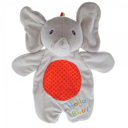 Gund Baby Flappy the Elephant Puppet Activity Lovey Comforter Soft Toy