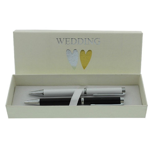 Wendy Jones-Blackett Wedding Ballpoint Pen Set Gift Boxed