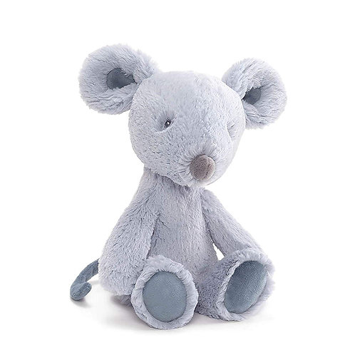 Gund Baby Toothpick Mouse Small Soft Plush Toy Blue