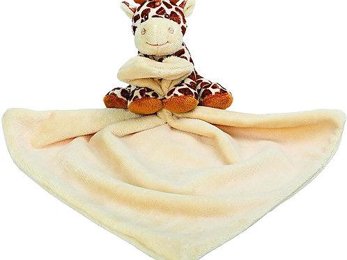 Babys Bing Bing Giraffe Rattle Soft Toy Comforter Comfort Blanket Newborn Gift