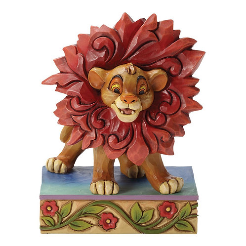 Jim Shore Disney Traditions Can't Wait to Be King Simba Lion Figurine