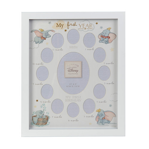 Disney Magical Beginnings Dumbo Baby My First Year Photo Frame