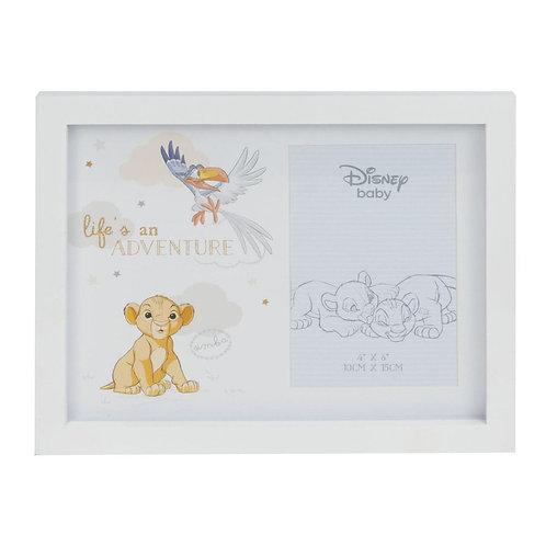 "Disney Magical Beginnings Simba The Lion King Baby Photo Frame 4"" x 6"""