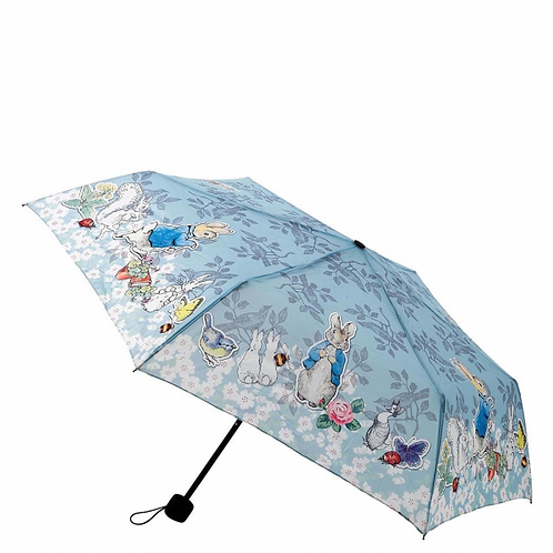 Beatrix Potter Peter Rabbit Ladies Compact Folding Umbrella