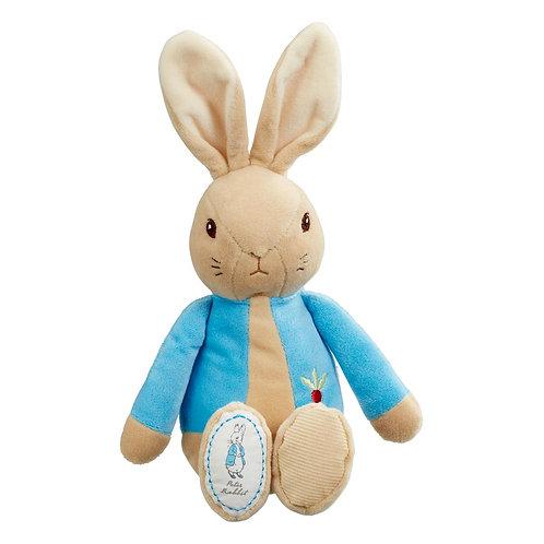 My First Peter Rabbit Soft Plush Baby Toy Boys Blue 30cm