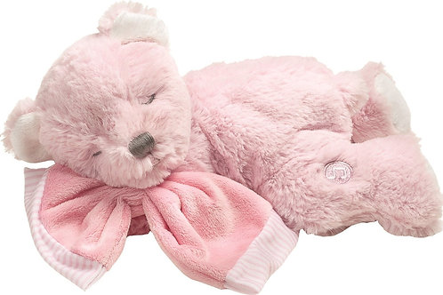 Baby's First Teddy Musical Bear Soft Toy Suki Gifts Girls Pink