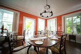 The Great House Antigua Dinning Room