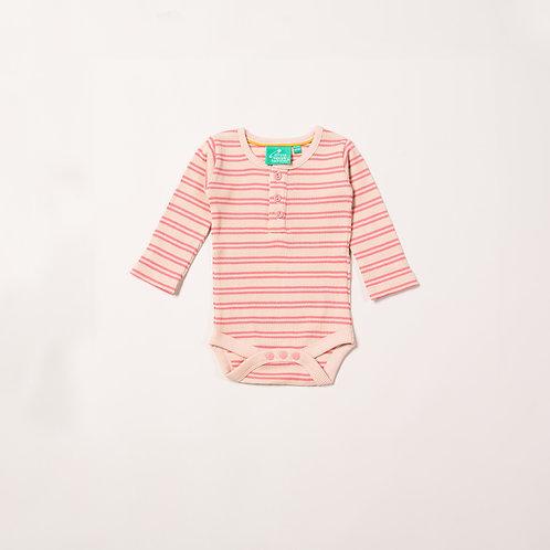 Sugar Pink Stripes Babybody