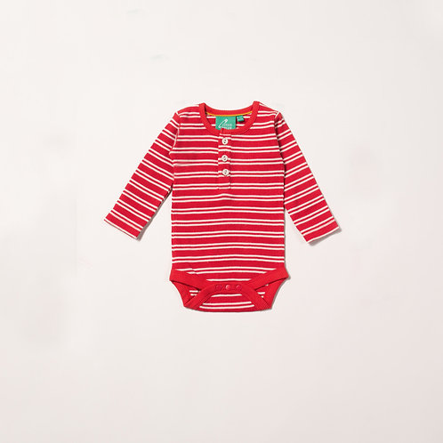 Red Stripes Forever Babybody