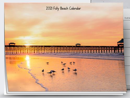 2021 Folly Beach Calendar