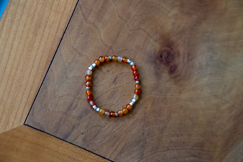 Orange Crush - Stretch Bracelet