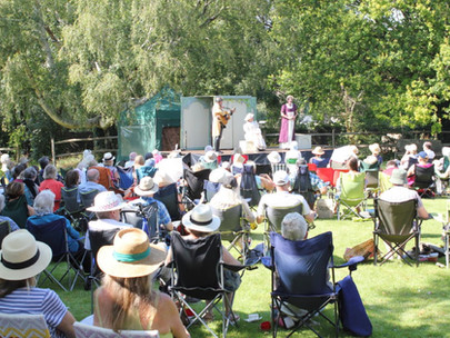 Shakespeare event enjoyed by a large audience