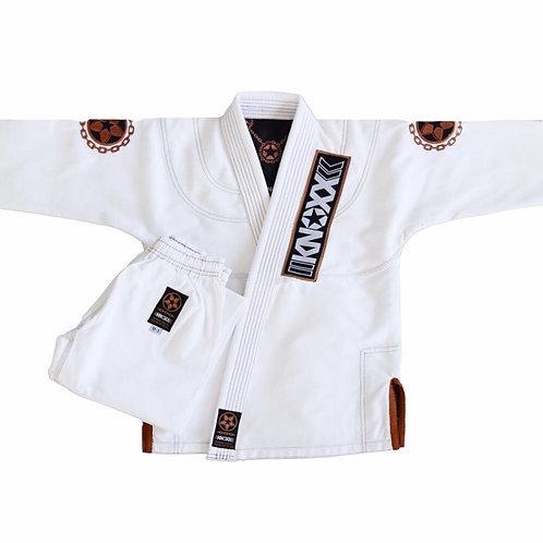 """KNOXX Youth Jiu Jitsu """"Manchira"""" White Gi"""