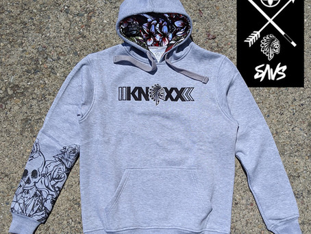 Limited Edition KNOXX x SAVS Brand Pullover Hoodie