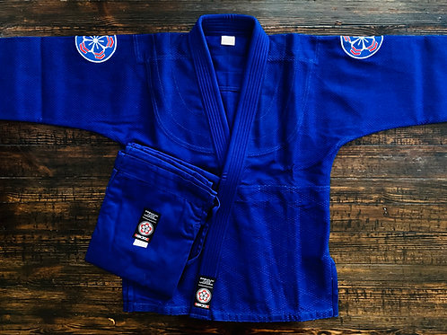 "KNOXX Adult Judo Gi - Blue ""Elite"""